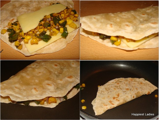 how to prepare Quesadilla