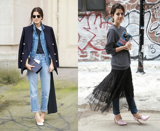 outfit layers fashion blogger leandra medine