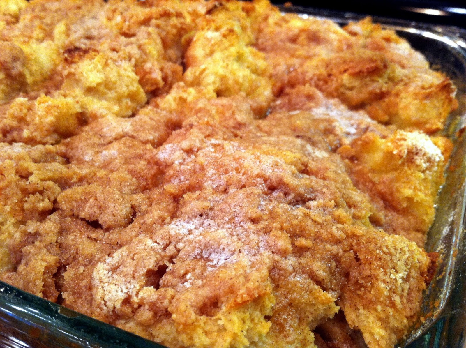 One Couple's Kitchen: Overnight Cinnamon French Toast Casserole
