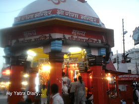 A Temple on the banks of River Ganga in Haridwar