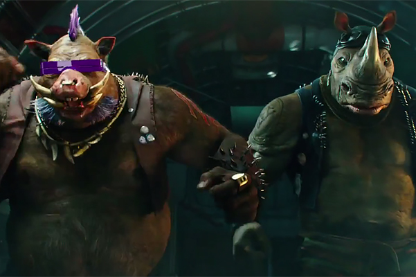 "the first trailer for ""Teenage Mutant Ninja Turtles 2"""