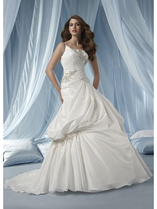 Ein-Schulter Brautkleider - Beste Brautkleide