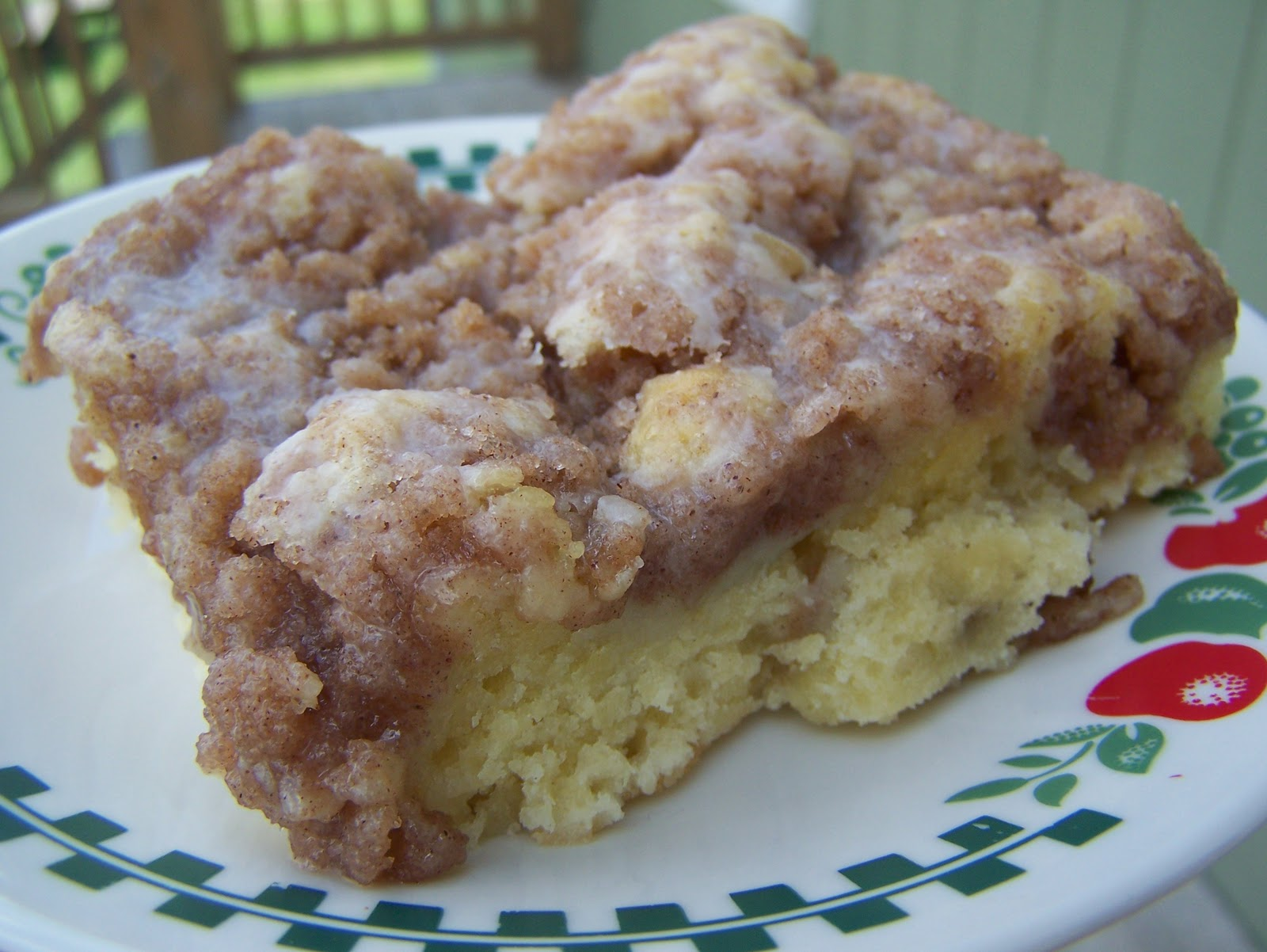 Tried-and-True cooking with Heidi: Cinnamon Struesel Coffee Cake