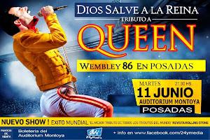 DIOS SALVE A LA REINA EN POSADAS!!! MARTES 11 DE JUNIO 3013