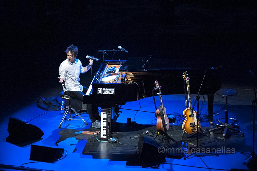 Jamie Cullum, Auditorio del Kursaal, Donostia, 23-7-2015