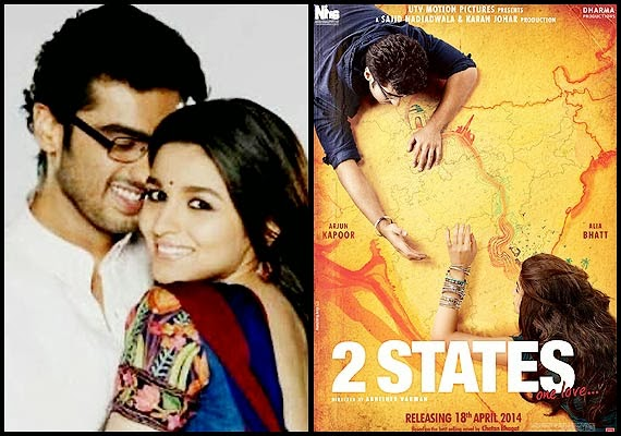 2 states 2014 Hindi Movie Watch Online