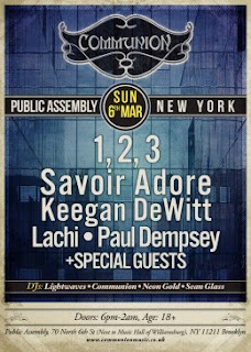 Keegan Dewitt Plays Communion @ Public Assembly This Sunday, March 6th