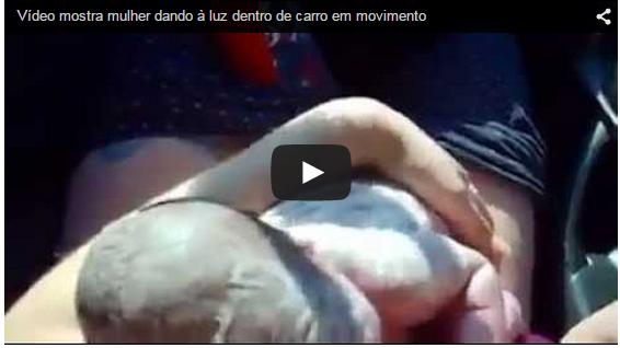 (OH MY GOD!) Vídeo mostra mulher dando à luz dentro de carro em movimento