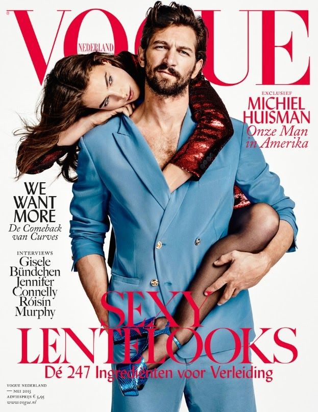 Model , Actor, Musician, Singer @ Crista Cober & Michiel Huisman by Marc de Groot for Vogue Netherlands
