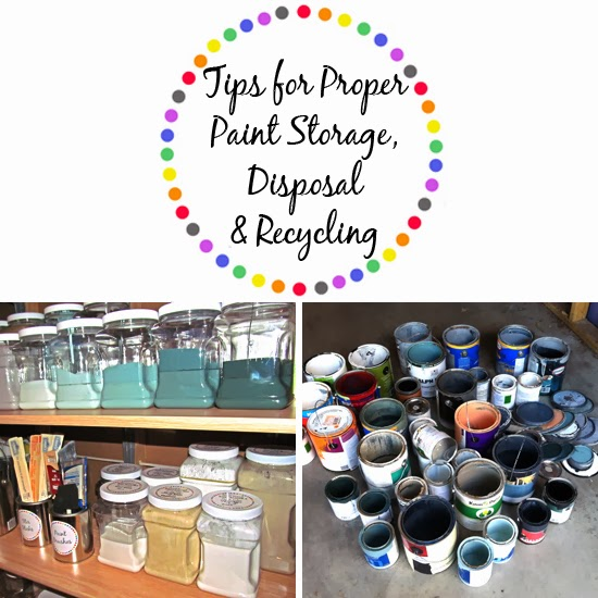 paint storage tips storing latex paint transfer left over paint to. Black Bedroom Furniture Sets. Home Design Ideas