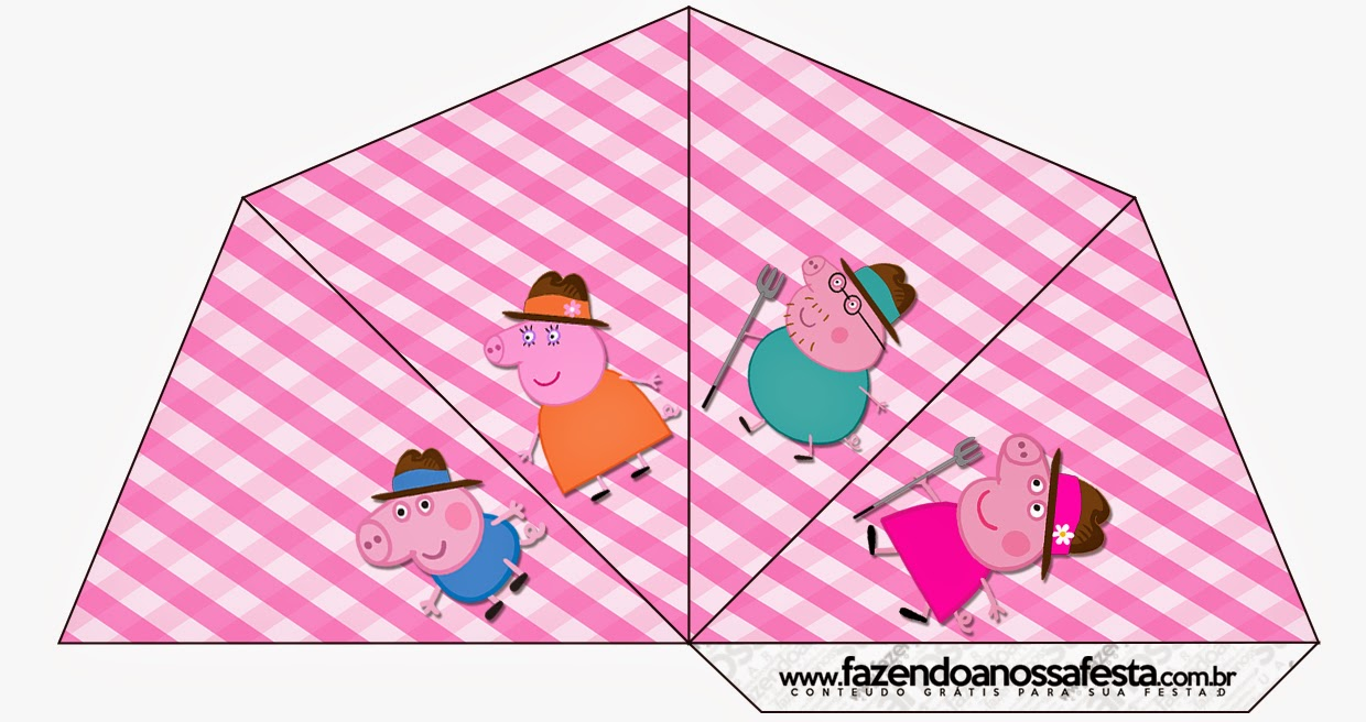 Peppa Pig at the Farm Free Party Printables. | Oh My Fiesta! in ...
