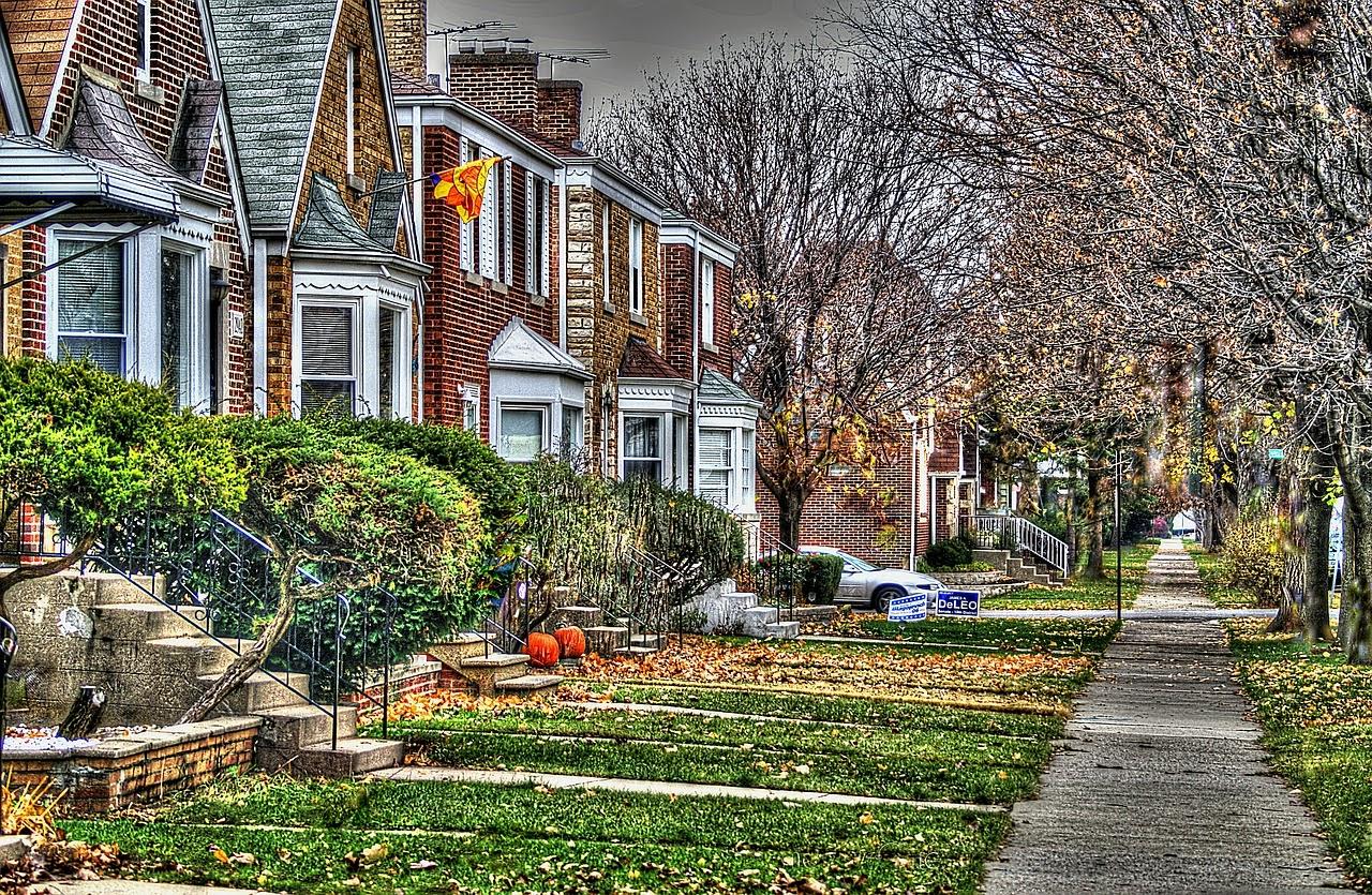 Clima de otoño en Chicago