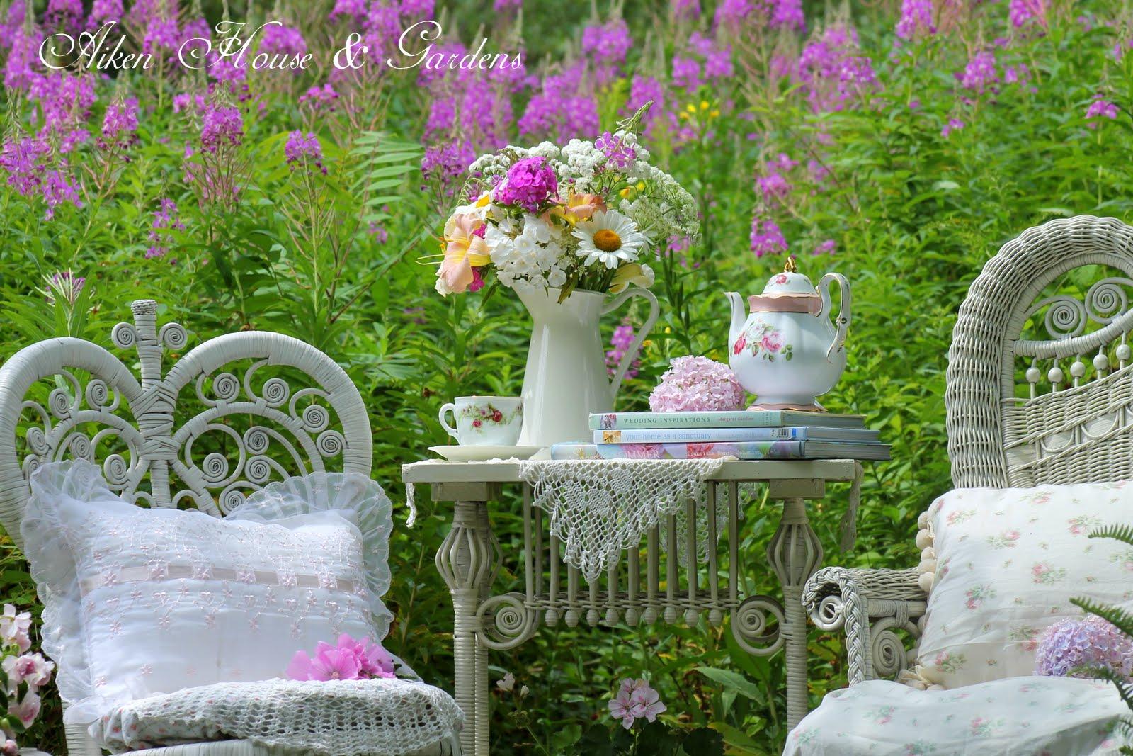 Aiken House Gardens Victorian Garden Tea