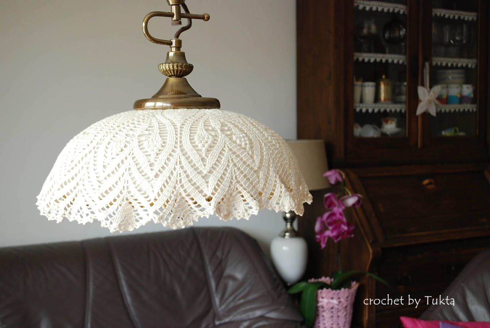 Crochet Pattern Lovely Lampshade : Crochet by Tukta: doily lampshade