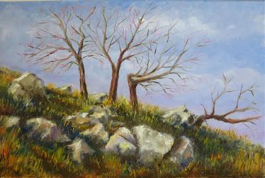 El almendro viejo de Cadenas y sus tres retoños (P6)