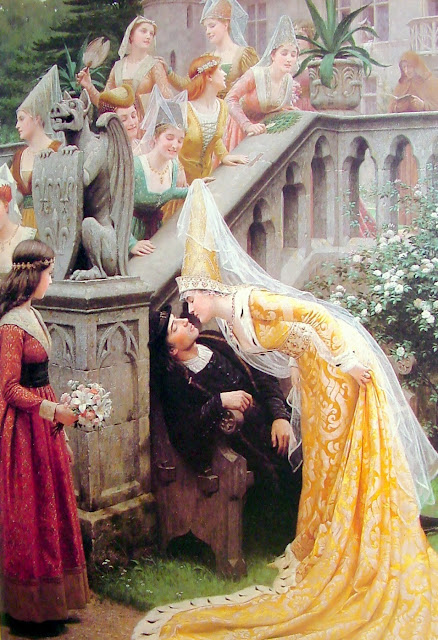 Alain Chartier,the kiss,Leighton