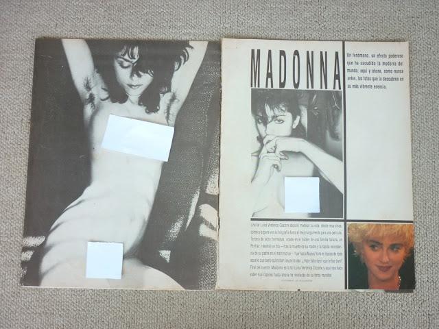 Madonna telanjang bugil