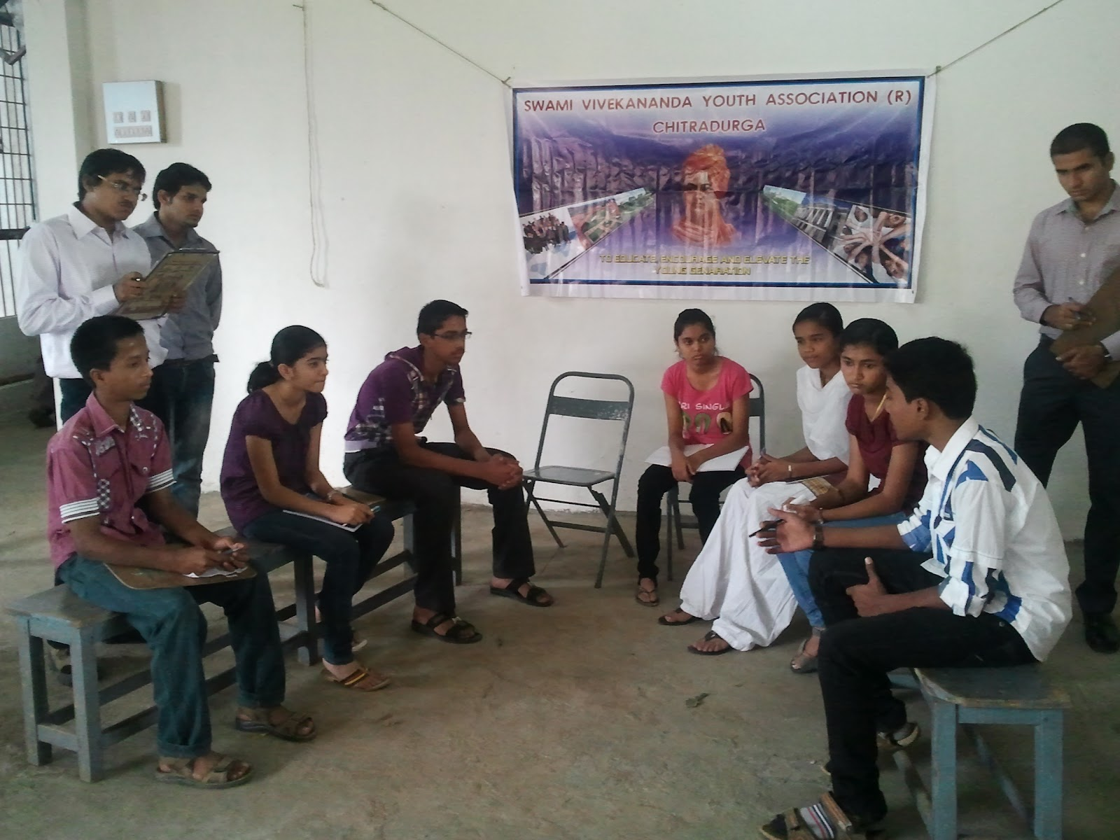 swami vivekananda youth association training regarding the group swami vivekananda youth association training regarding the group discussion personal interview for the high school students