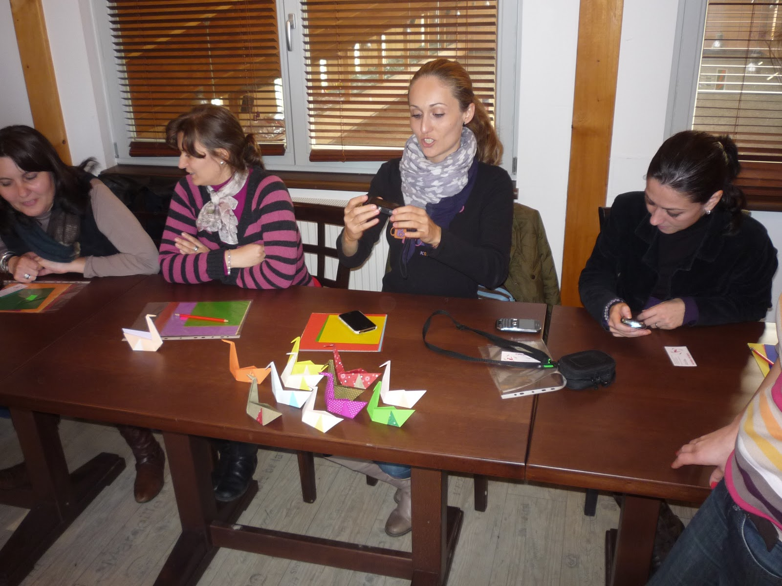 Cursuri Origami: Team building la Henkel România - photo#20