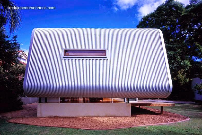 Extremo de la ampliación del bungalow en Perth, Australia