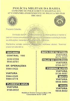 Panfleto 63ª CIPMI