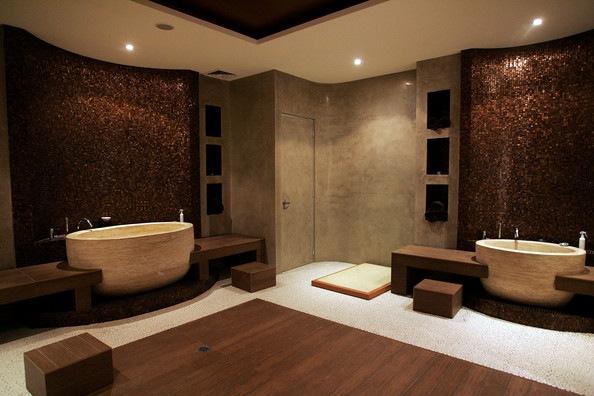 Arredo Bagno Stile Spa : Boiserie c trasformare il bagno in una spa in mosse