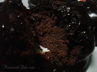 cupcake coklat lembab