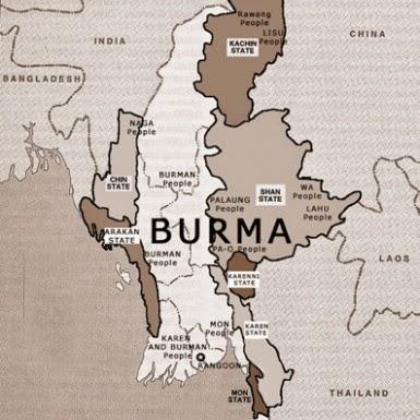 Burma während britischer Kolonialzeit