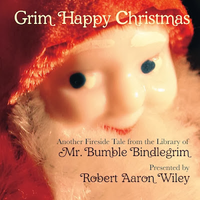 Bindlegrim's Grim Happy Christmas 2nd edition on Amazon tells a heart warming story of a Christmas gnome learning that the holiday is in friendships not gewgaws.