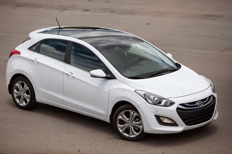 Novo Hyundai i30 1.8 2014 branco