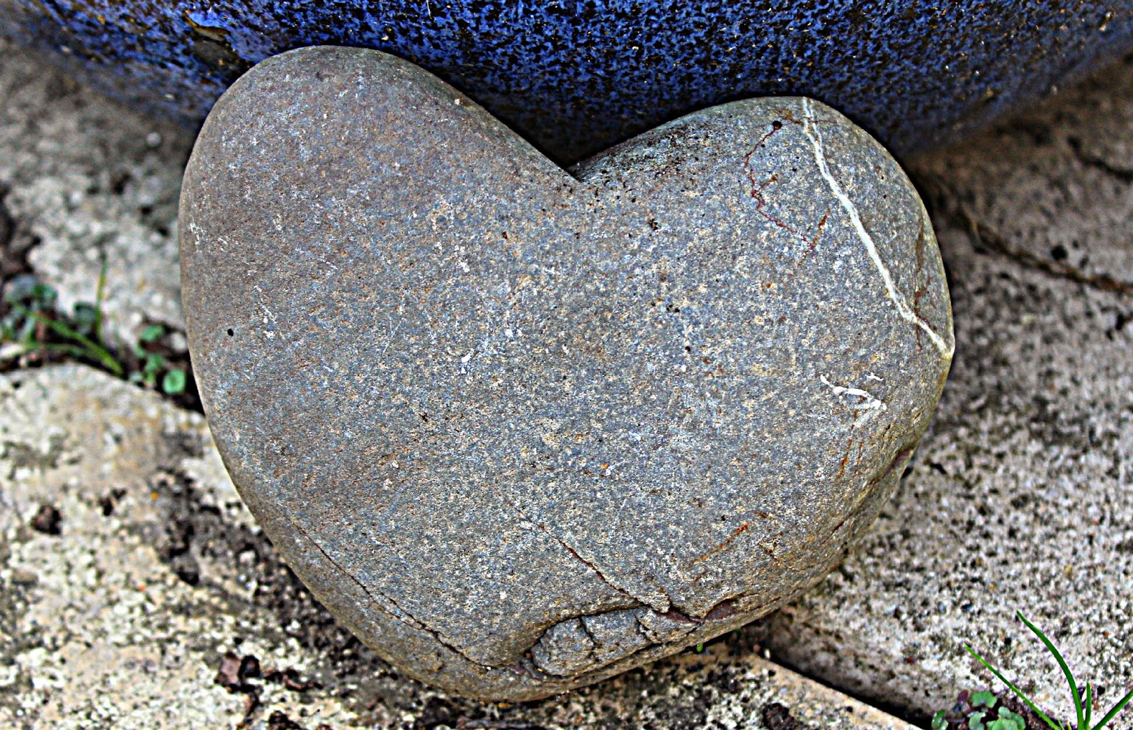 Project 365 #38 day 257 - Stone heart