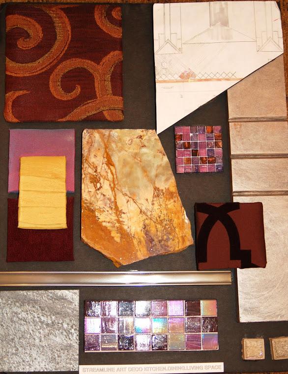 Design Board for Contemporary ArtDeco