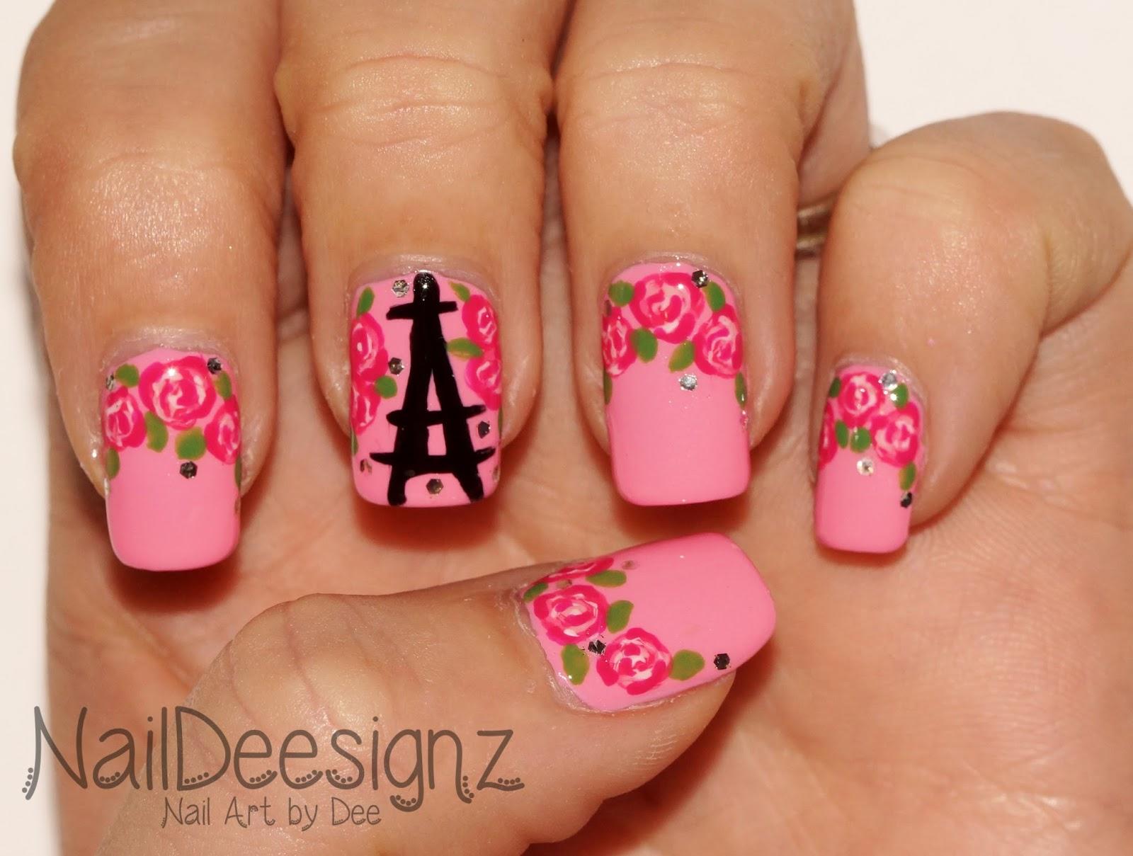 NailDeesignz: Parisian Nail Art