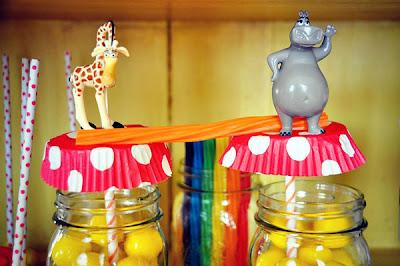 Decoraciones de Fiestas de Madagascar - Circo