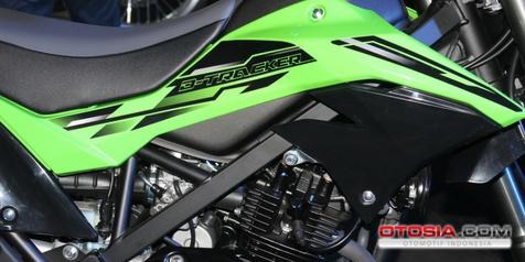 Ternyata Rangka New Kawasaki D-Tracker Diganti Lebih Besar