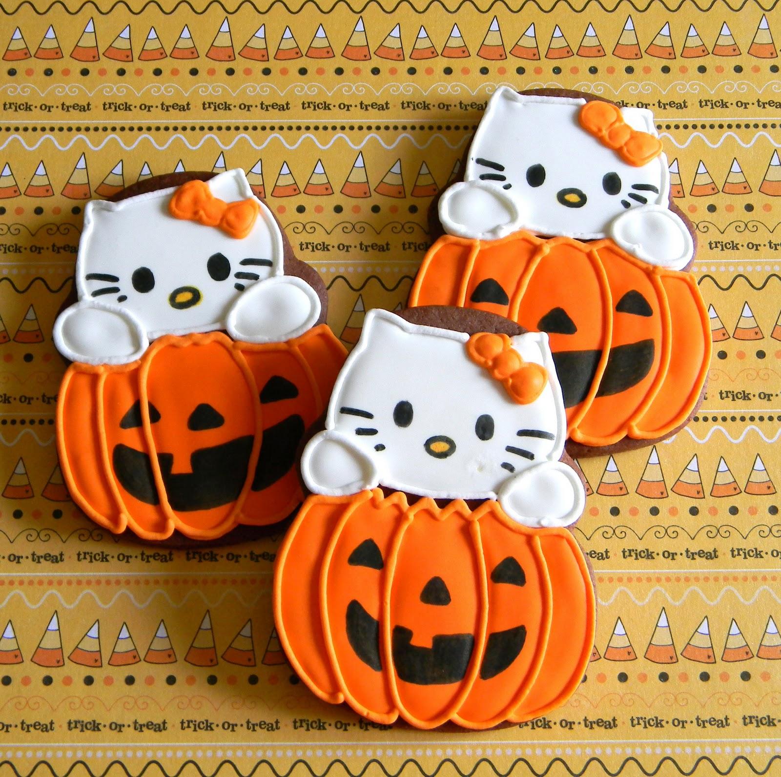 Frost your cake zombies vs hello kitty - Hello kitty halloween ...