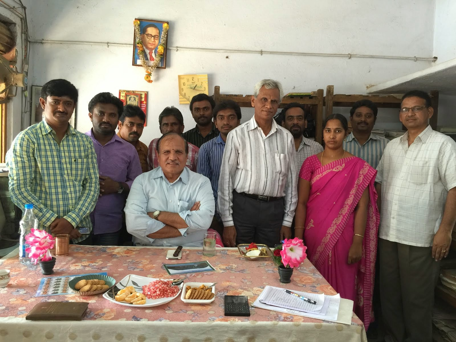 CPMG Visit to Aukiripalli SO of VJA Dn on 14.2.15