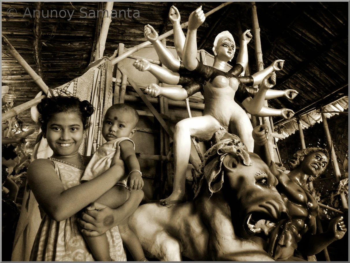Durga Puja 2014 - Idol Makers friendly Kids