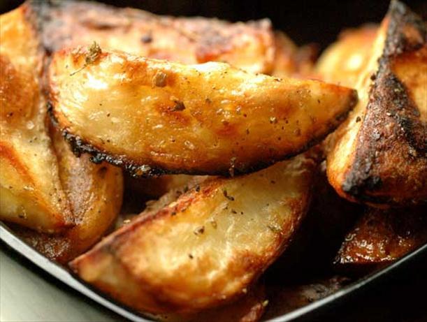 Perfect Potatoes - Roasted Greek Style
