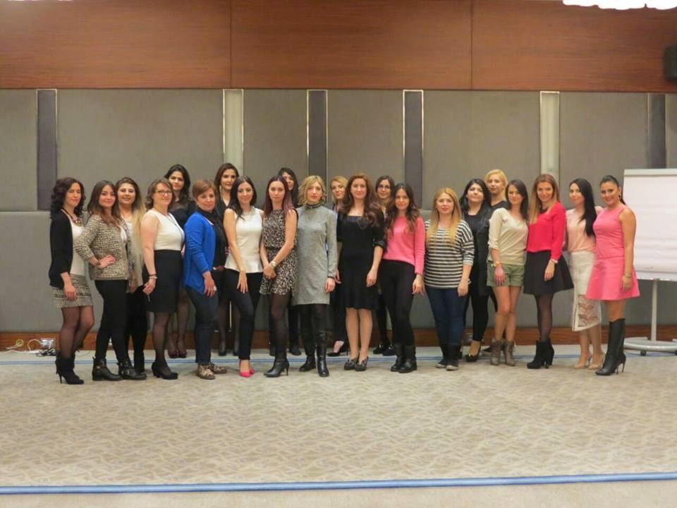 Bursa Hilton Hotel bloggerlar 8 mart kadınlar günü etkinliği