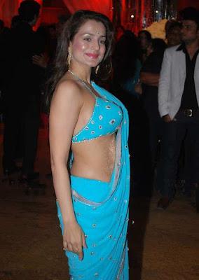 Bollywood Actress: bollywood-actress-amisha-patel-in-saree