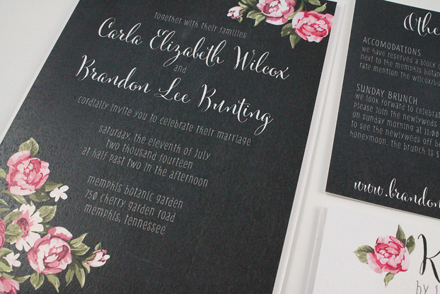 http://dgdinvitations.com/product/carla-vintage-rose-floral-chalkboard-invitation/