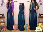 6108 Gamis Jeans + Cardi SOLD OUT