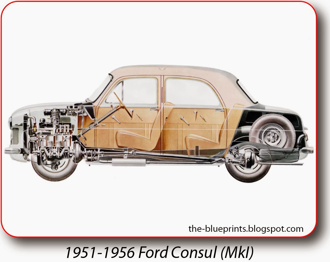 Vector Blueprints - Cars, Trucks, Busses and others: Ford ...