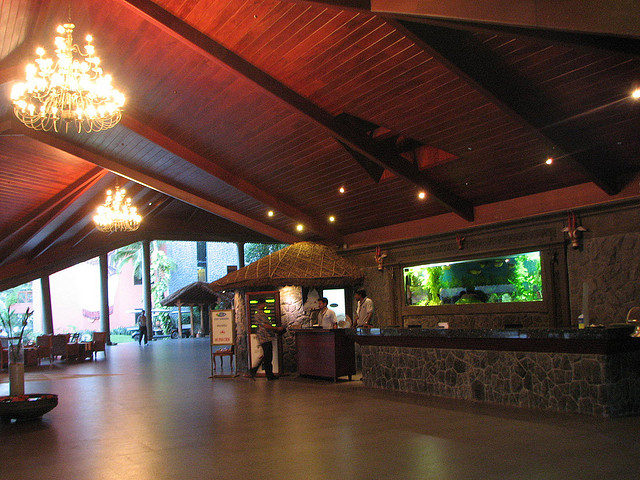 reception of resort : book family holiday package