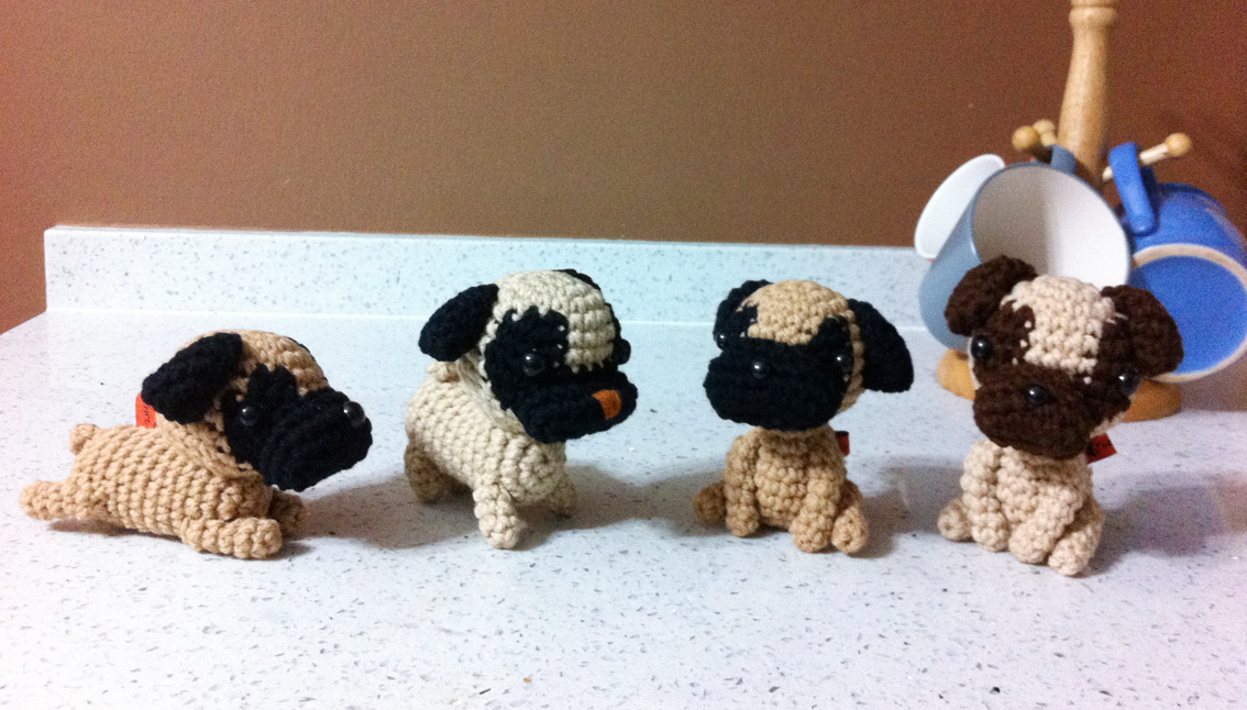 little crochet dog 9 12 price $ 15 each little crochet dog 13 16 price ...