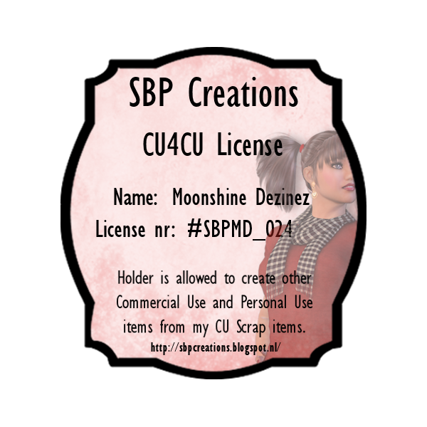 SBP Creations CU4CU License