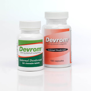 Devrom works fast to deodorize embarrassing gas