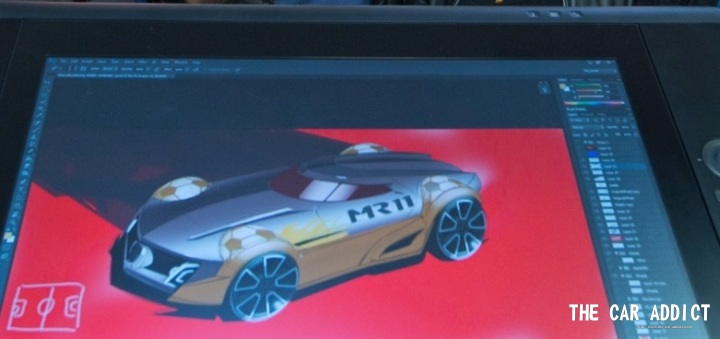 Marco Reuss MR11 Hot Wheels Model Car