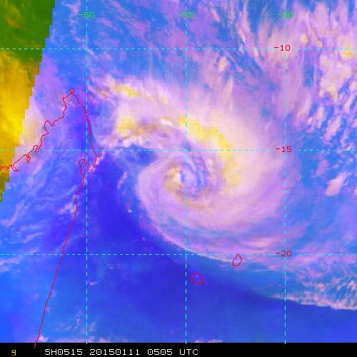 Forte tempête Bansi: Communiqué de Météo France